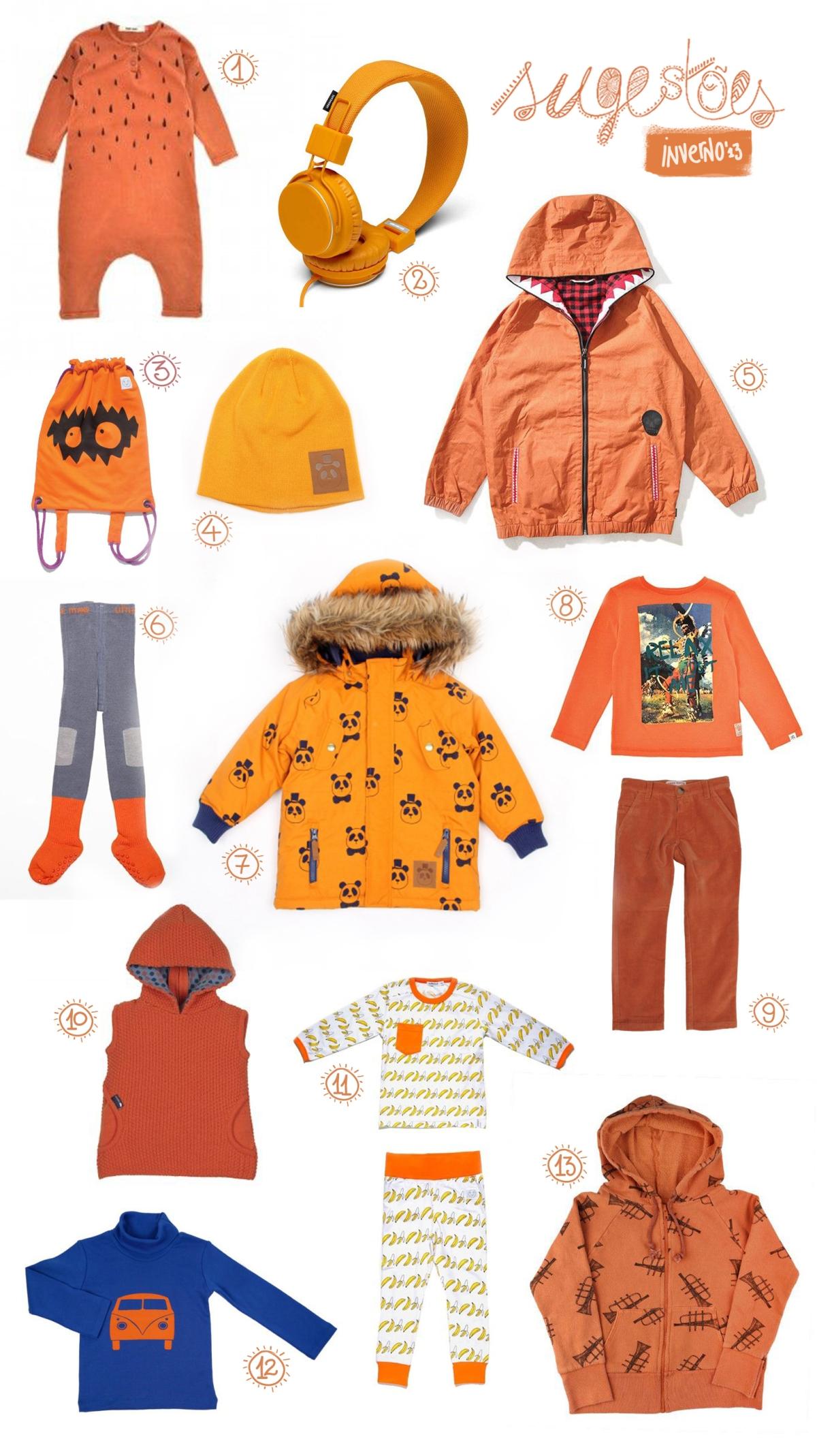Rebuçado Ácido - orange/laranja