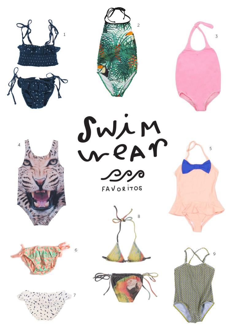 swimwear / rebuçado ácido